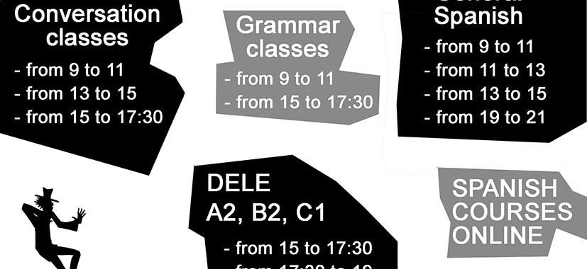 Escuela Mediterraneo Barcelona schedule january march 2017
