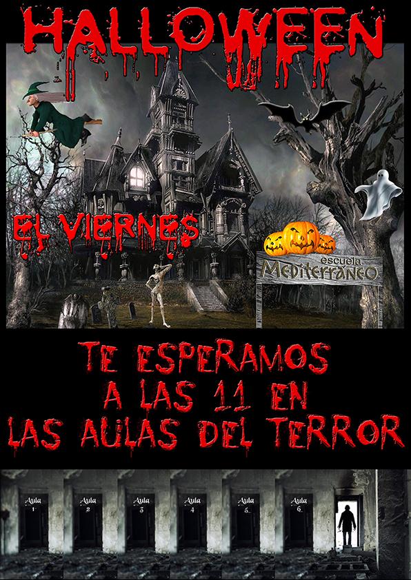 Halloween Escuela Mediterraneo Barcelona