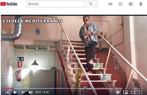 Escuela Mediterraneo Barcelona Spanish courses Fiesta Musica Youtube