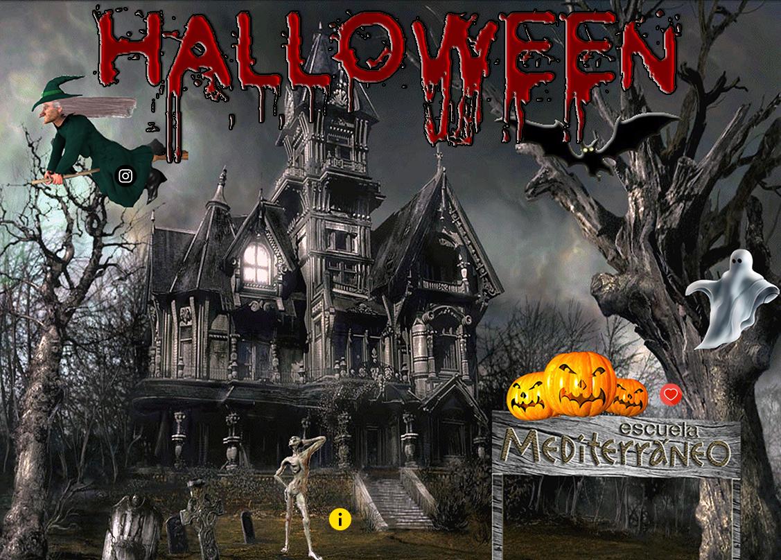 Halloween experience at Escuela Mediterraneo