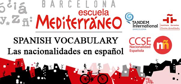 Spanish Oficial Exam Nationality