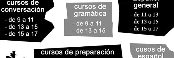 Cursos de español verano