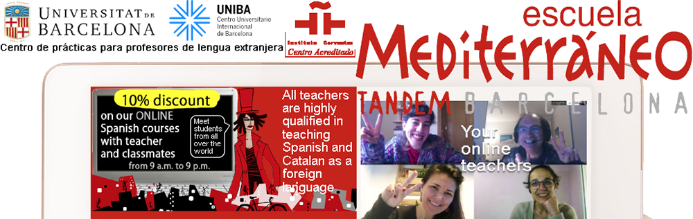 Escuela Mediterraneo Online Spanish and Catalan courses
