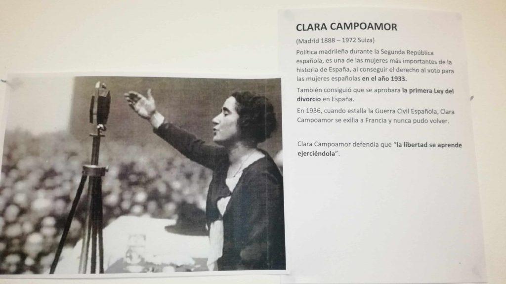 foto Clara Campoamor