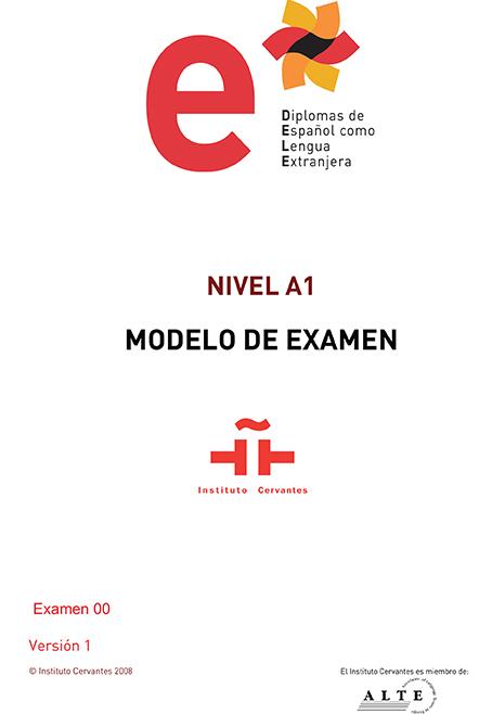 Modelo examen DELE A1