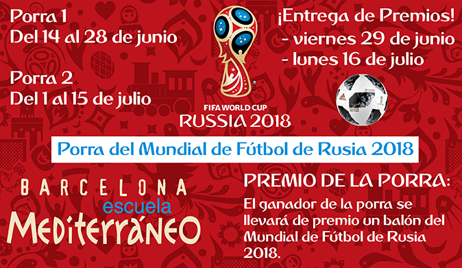 Spanish course Escuela Mediterraneo Mundial Futbol