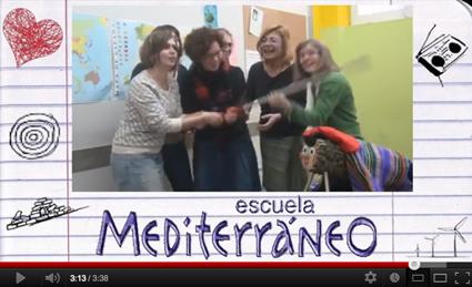 Escuela Mediterraneo Barcelona Spanish course Christmas